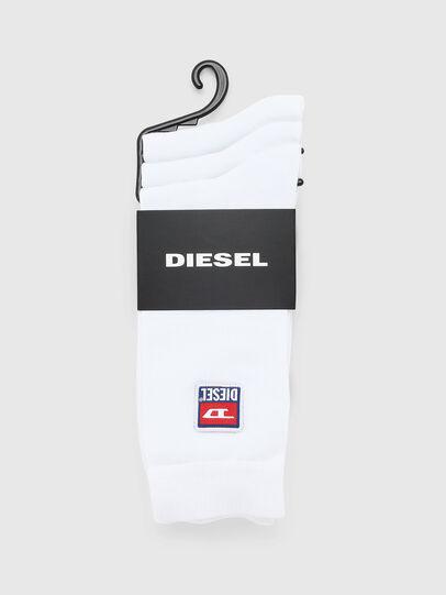 Diesel - SKM-RAY-THREEPACK, Blanco - Calcetines - Image 2