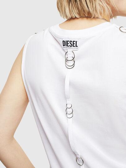 Diesel - T-LESLEE-A, Blanco - Tops - Image 3