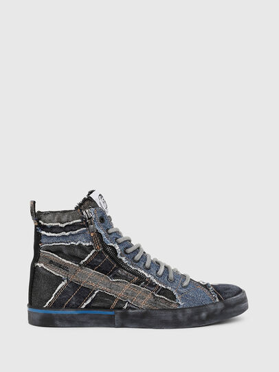 Diesel - D-VELOWS MID LACE, Negro/Azul - Sneakers - Image 1