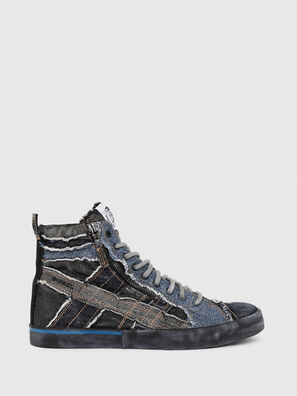 D-VELOWS MID LACE, Negro/Azul - Sneakers