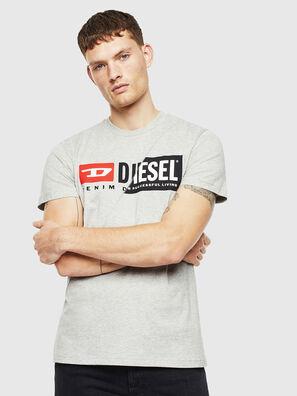 T-DIEGO-CUTY, Gris Claro - Camisetas