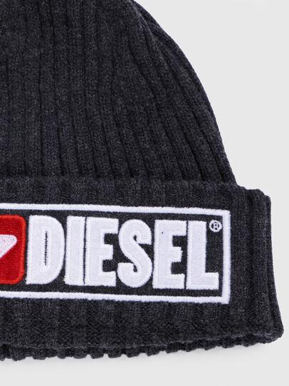 Diesel - K-CODER-B, Negro - Gorros - Image 3