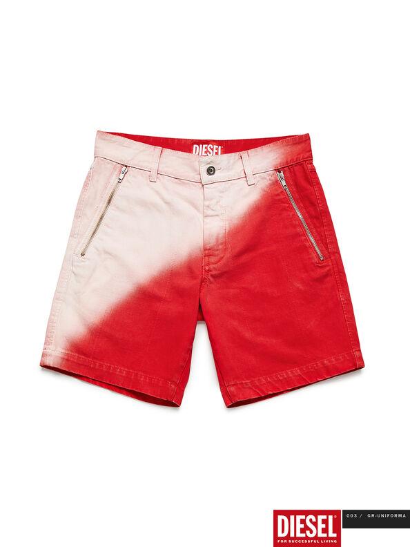 GR02-P303, Rojo/Blanco - Shorts