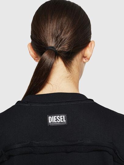 Diesel - F-LYANY-H, Negro - Sudaderas - Image 5