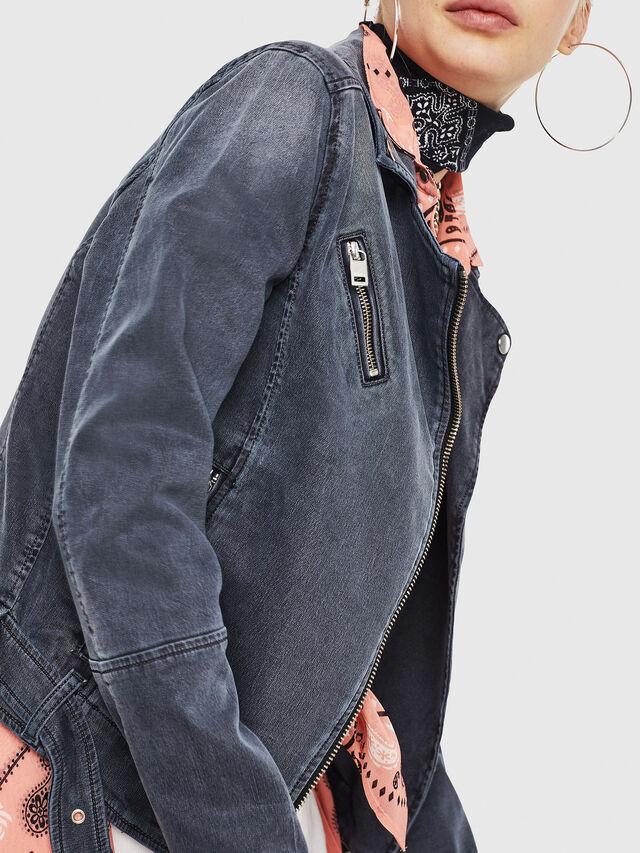 Diesel - KERBIZ JOGGJEANS, Black Jeans - Chaquetas de denim - Image 4