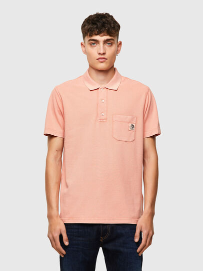 Diesel - T-POLO-WORKY-B1, Polvos de Maquillaje - Polos - Image 1