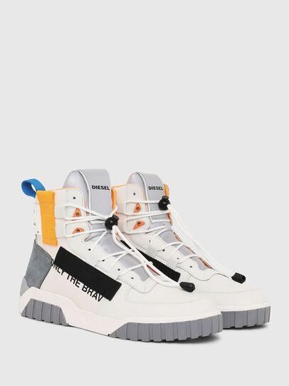 Diesel - S-RUA MID SP, Blanco - Sneakers - Image 2