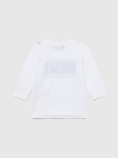 Diesel - TJUSTLOGOB ML, Blanco - Camisetas y Tops - Image 2