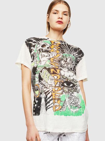 Diesel - T-DARIA-YB, Blanco - Camisetas - Image 1