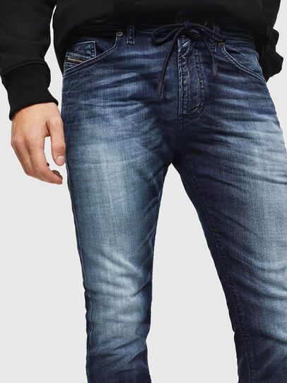 Diesel - Thommer JoggJeans 069IE, Azul Oscuro - Vaqueros - Image 3