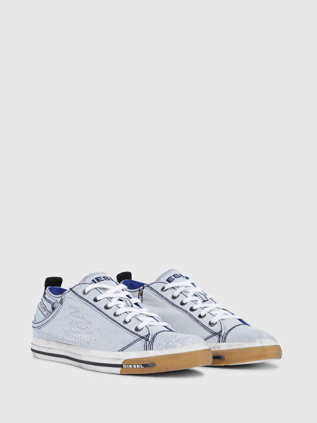 Diesel - EXPOSURE LOW I, Azul Claro - Sneakers - Image 2