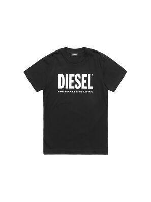 TJUSTLOGO, Negro - Camisetas y Tops