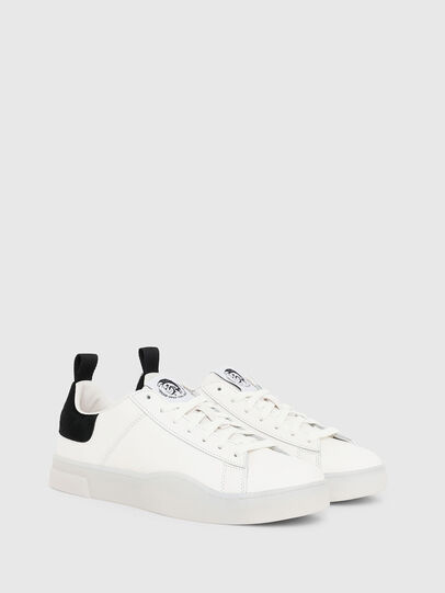 Diesel - S-CLEVER LOW LACE, Blanco/Negro - Sneakers - Image 2