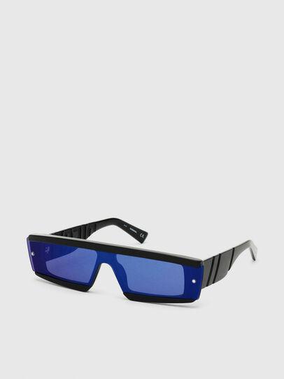 Diesel - DL0318, Negro/Azul - Gafas de sol - Image 2
