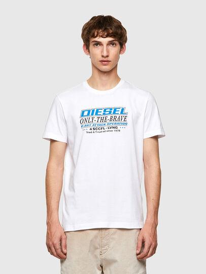 Diesel - T-DIEGOS-K20, Blanco - Camisetas - Image 1