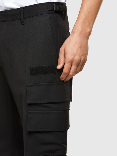 Diesel - P-HOMEN, Negro - Pantalones - Image 3