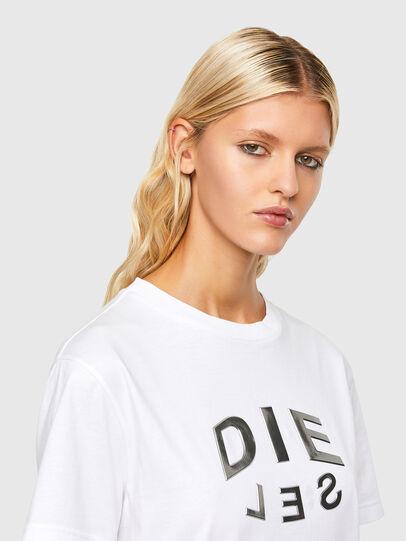 Diesel - T-DARIA-R1, Blanco - Camisetas - Image 3
