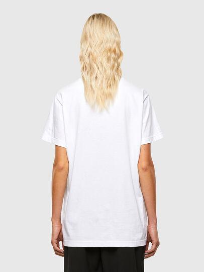 Diesel - T-DARIA-R1, Blanco - Camisetas - Image 2