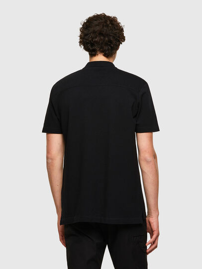 Diesel - T-POLO-WORKY, Negro - Polos - Image 2