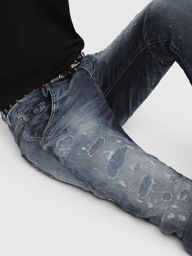 FAYZA JOGGJEANS 069CC, Blue Jeans