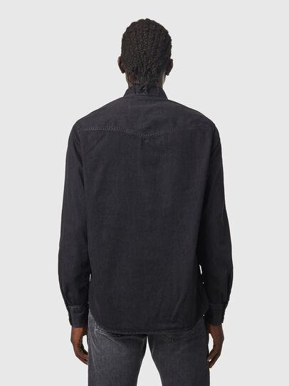 Diesel - D-EAST-P1, Negro - Camisas de Denim - Image 2