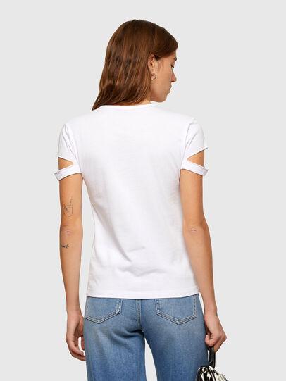 Diesel - T-BULLOCK-A2, Blanco - Camisetas - Image 2
