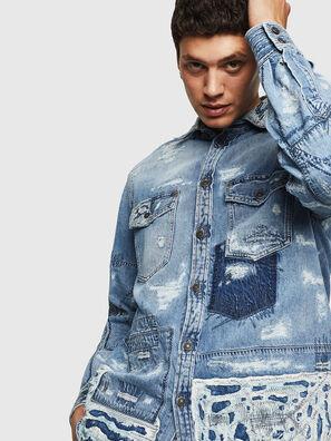 D-HISAKY-SY, Blue Jeans - Camisas de Denim