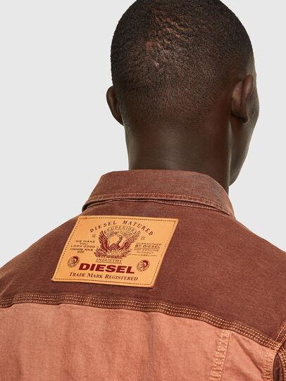 Diesel - D-YOGI-SP1 JOGGJEANS, Marrón - Chaquetas de denim - Image 4