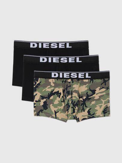 Diesel - UMBX-DAMIENTHREEPACK, Negro/Verde - Boxers - Image 1