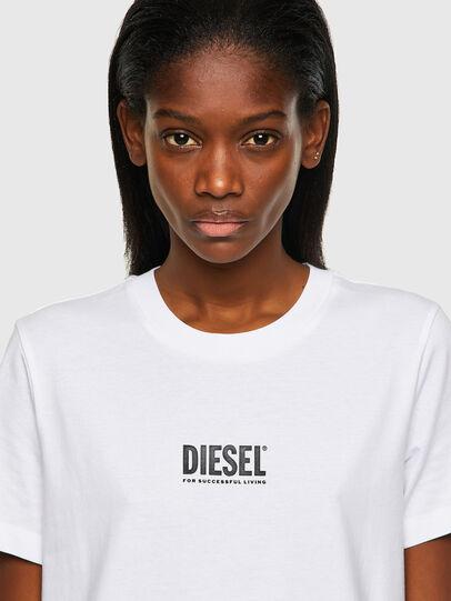 Diesel - T-SILY-ECOSMALLOGO, Blanco - Camisetas - Image 3