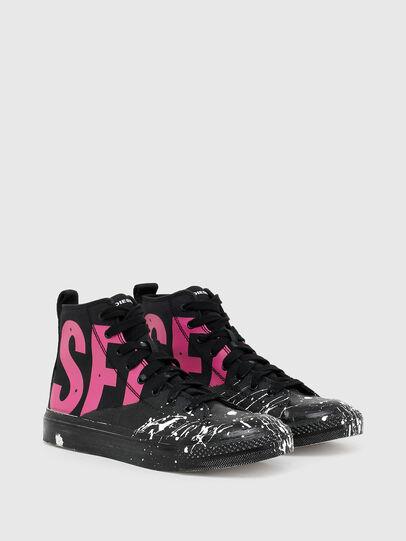 Diesel - S-ASTICO MC W, Negro/Rosa - Sneakers - Image 2