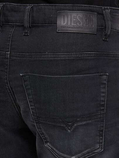 Diesel - Krooley JoggJeans 009KD, Negro/Gris oscuro - Vaqueros - Image 4
