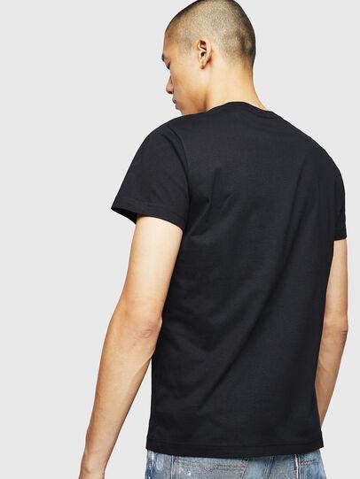 Diesel - T-DIEGO-B4, Negro - Camisetas - Image 2