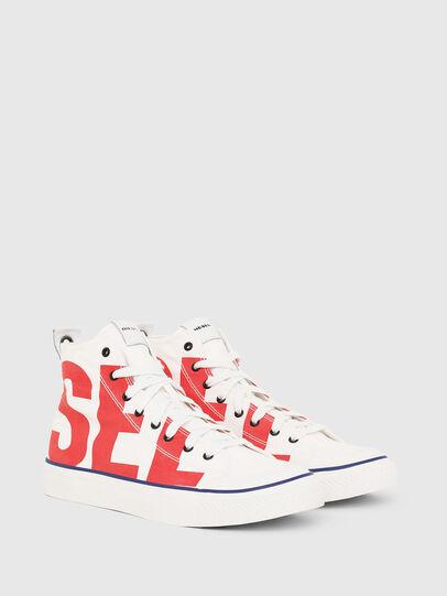 Diesel - S-ASTICO MC, Blanco/Rojo - Sneakers - Image 2