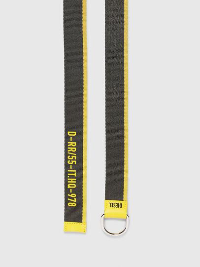 Diesel - B-TAPE55, Negro/Amarillo - Cinturones - Image 3