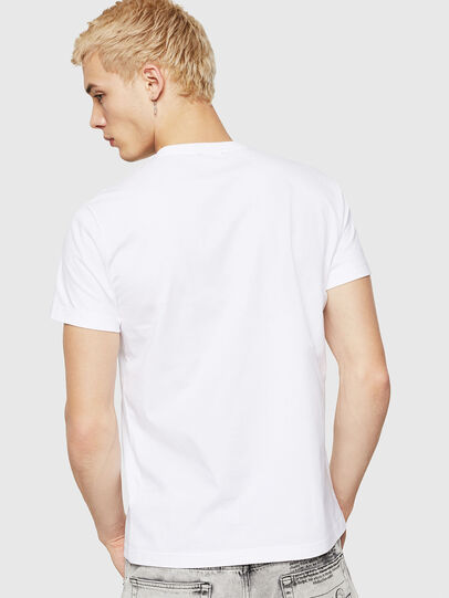 Diesel - T-DIEGO-A10, Blanco - Camisetas - Image 2