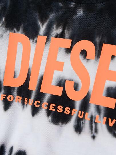Diesel - TAREZB, Negro/Blanco - Camisetas y Tops - Image 3