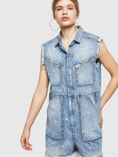 Diesel - DE-BETTE, Blue Jeans - Monos - Image 1