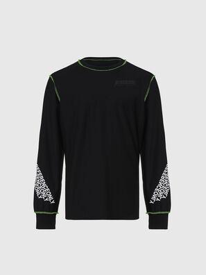 T-JUSEAM-LS, Negro - Camisetas