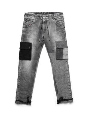 D-ARGO-JOGG, Negro/Gris oscuro - Pantalones