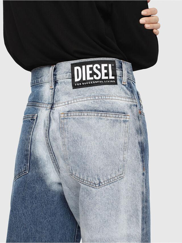 Diesel - Widee 0077V, Azul medio - Vaqueros - Image 5
