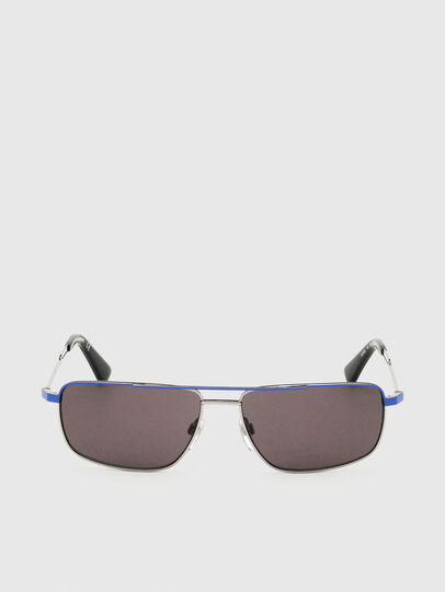 Diesel - DL0308, Azul/Gris - Gafas de sol - Image 1