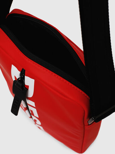 Diesel - F-BOLD SMALL CROSS, Rojo - Bolso cruzados - Image 5
