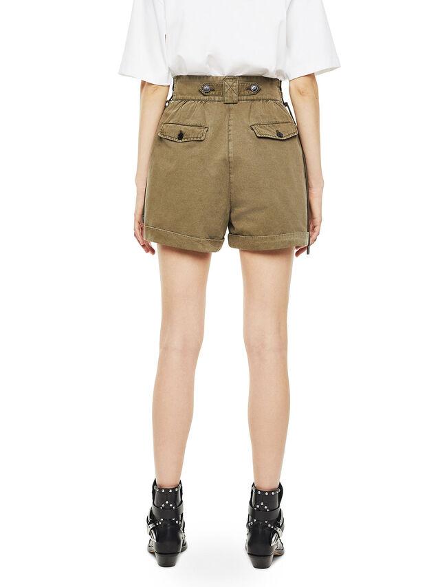Diesel - SIMONY, Verde Militar - Shorts - Image 2