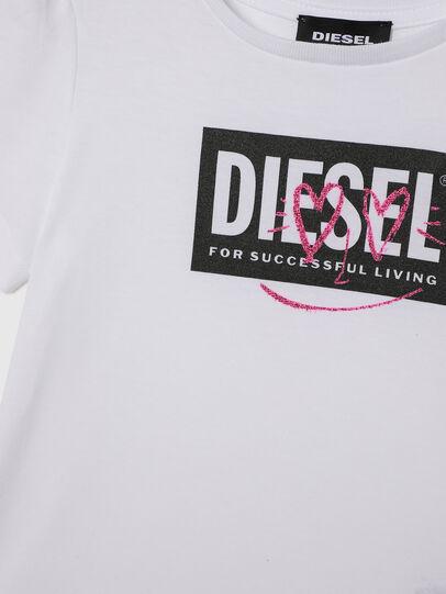 Diesel - TRIDGEB-R, Blanco - Camisetas y Tops - Image 3