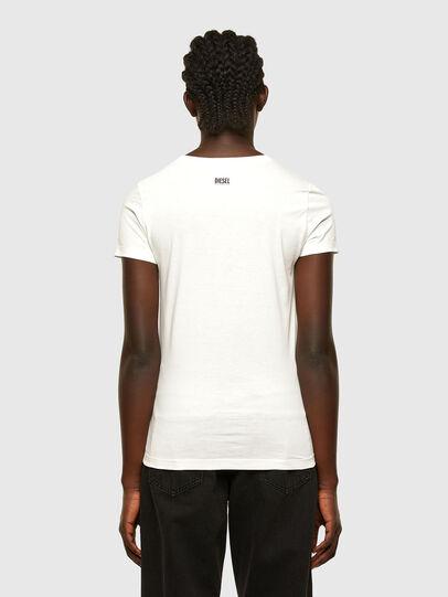 Diesel - T-SOAL-R1, Blanco - Camisetas - Image 2