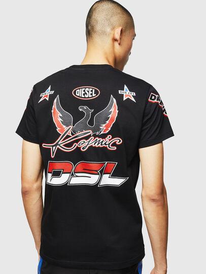 Diesel - ASTARS-T-DIEGO, Negro - Camisetas - Image 2