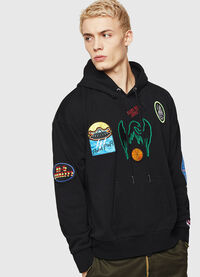 S-ALBY-PATCHES, Negro