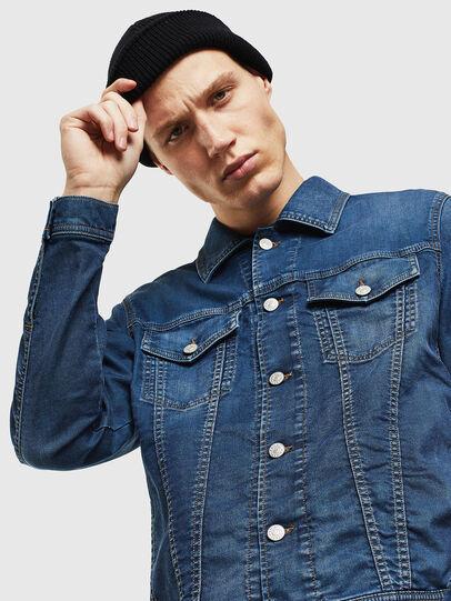 Diesel - NHILL JOGGJEANS, Blue Jeans - Chaquetas de denim - Image 3