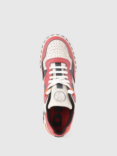 Diesel - S-RUA LOW SK, Blanco/Rojo - Sneakers - Image 6